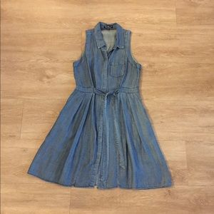 Velvet Heart Chambray Dress